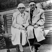 П.П.Гайдебуров и Н.Ф. Скарская